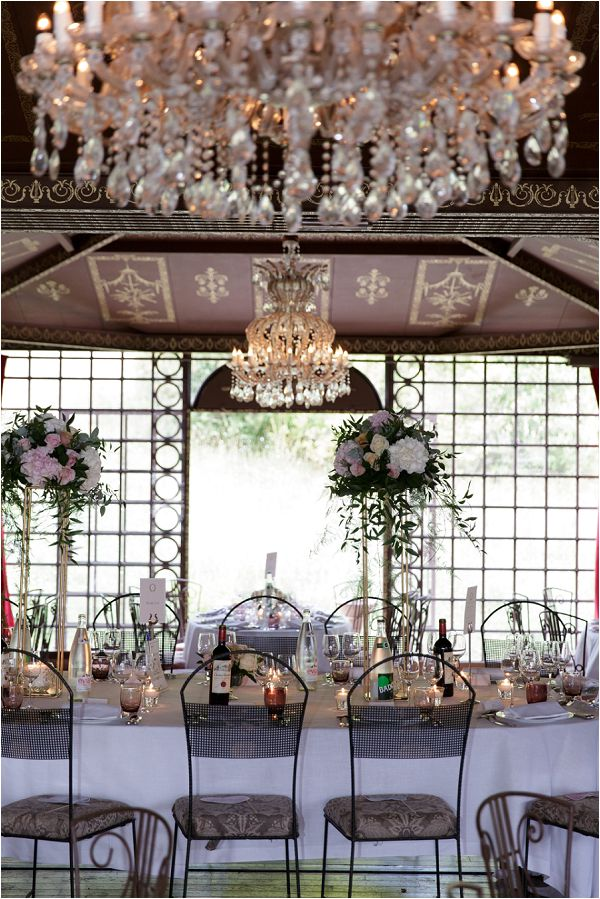 romantic wedding table styling | Image by Charlie Davies Photography