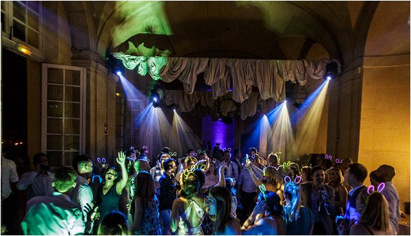 silent disco at a wedding | Image by Charlie Davies Photography