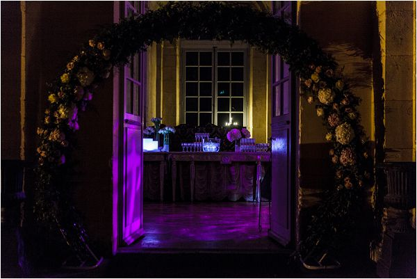 using lighting at a wedding venue | Image by Charlie Davies Photography