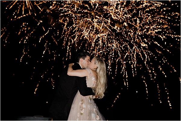 wedding fireworks | Image by Charlie Davies Photography