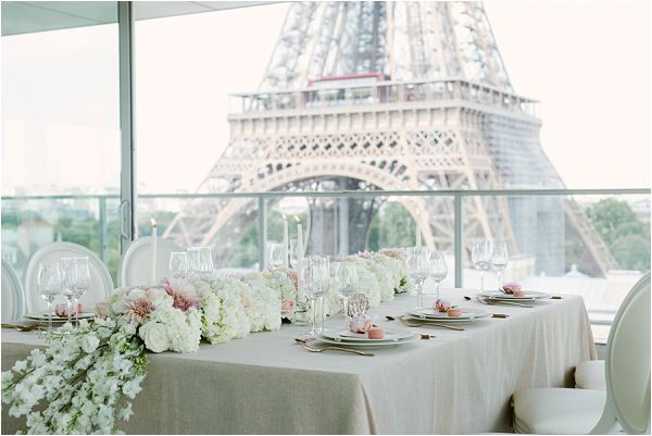 wedding venue Eiffel Tower Images by Zackstories