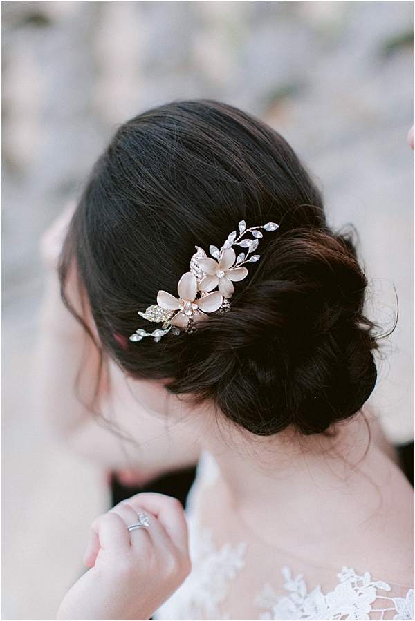 Annie Salmon Wedding Hairstyle
