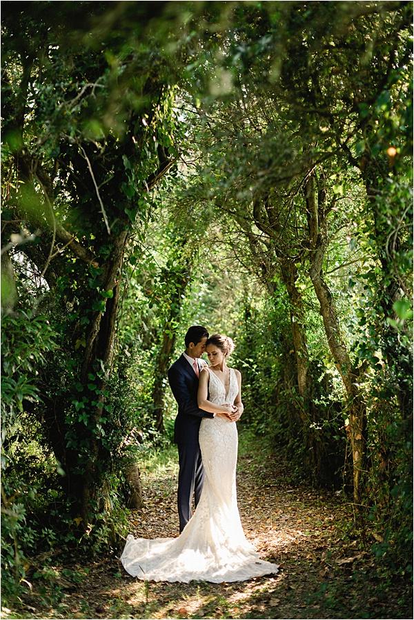 Beautiful garden photoshoot