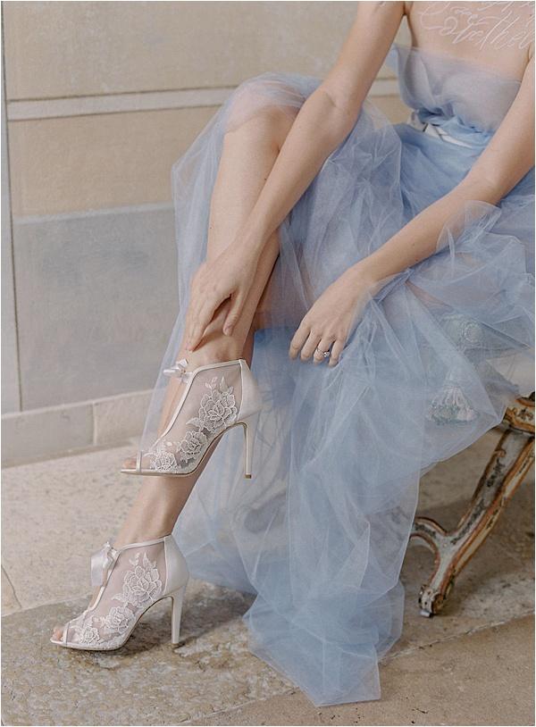 Bella Belle Blue and White Ensemble |  Image by Laura Gordon