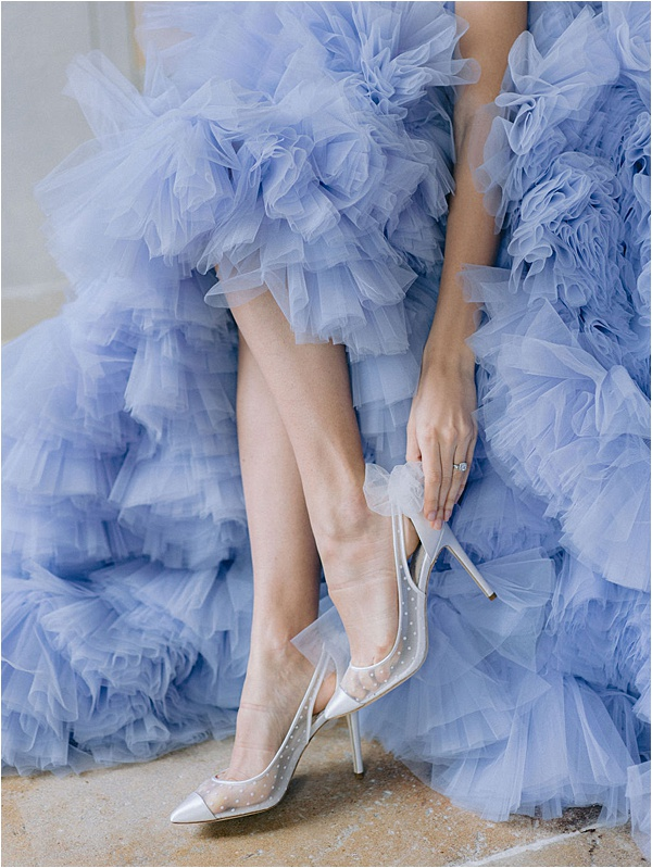 Bella Belle Shoes in a cloud of blue | Image by Laura Gordon