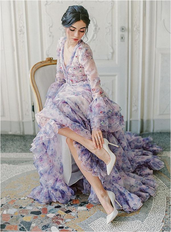 Bella belle stylish White shoes | Image by Laura Gordon