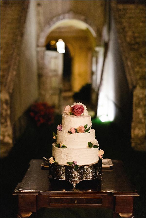 Casa Do Marques Wedding Cake