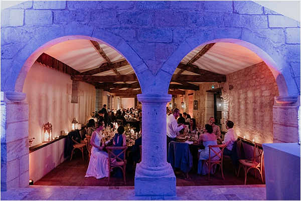 Château de Garde Dinner Space