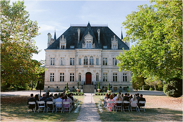 Chateau de la Valouze Ceremony Space