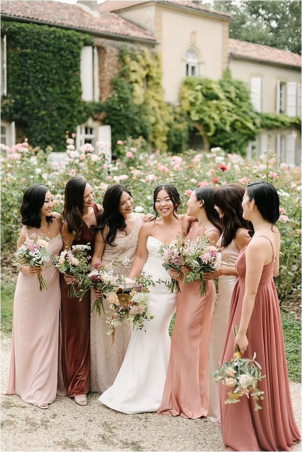 Chic Bride at her Chateau de Malliac Wedding
