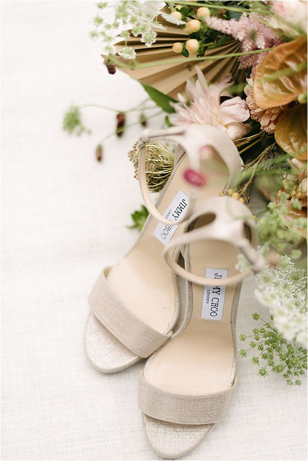 Chic Chateau de Malliac Wedding Shoes