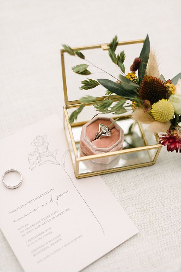 Chic Chateau de Malliac Wedding Stationery