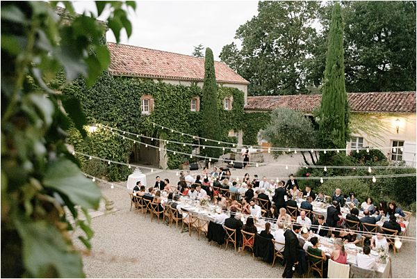 Chic Chateau de Malliac Wedding