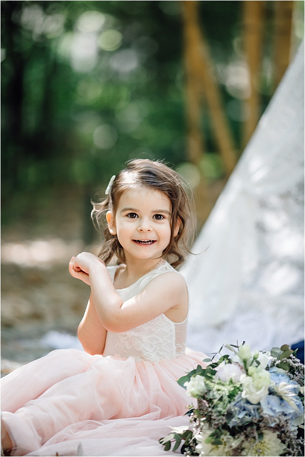 Cutest little bridesmaid