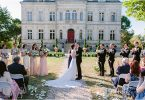 Delicate Chateau wedding in Southwest France