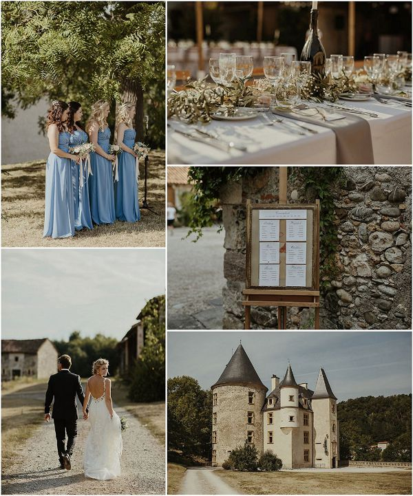 Dreamy Wedding Inspiration in Provence Snapshot | Images by Danelle Bohane