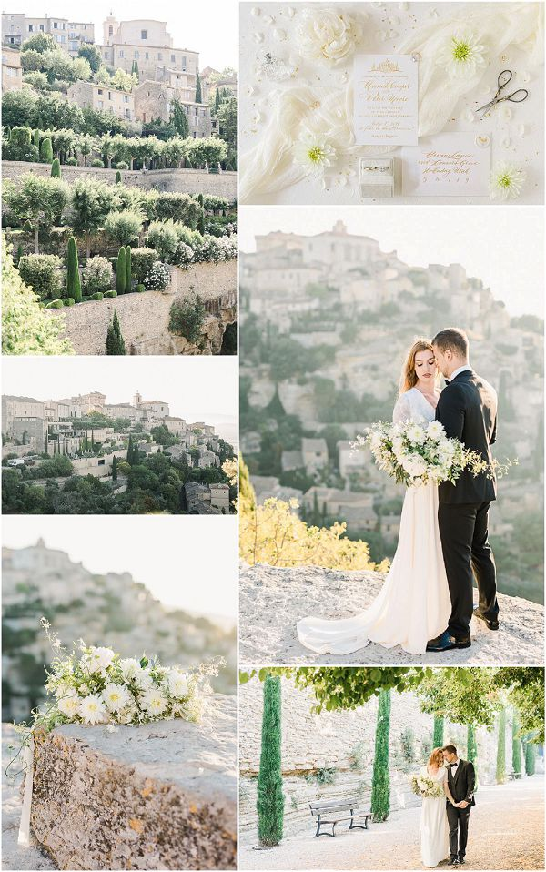 Dreamy Wedding Inspiration in Provence Snapshot Images by Jeremie Hkb