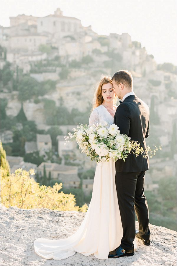 Dreamy Wedding Inspiration in Provence elopement Images by Jeremie Hkb