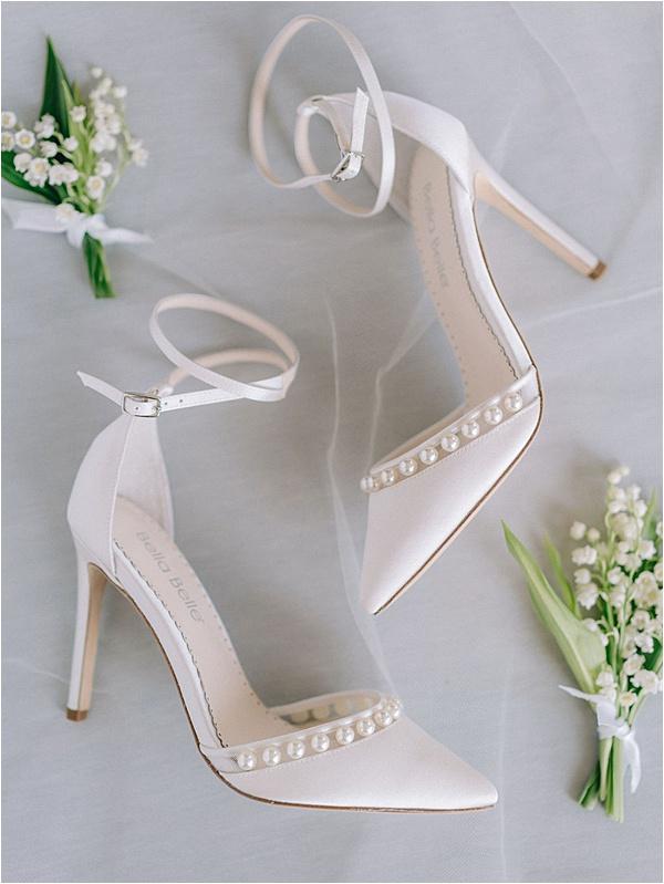 Elegant Pearl Bella Belle shoes | Image by Laura Gordon