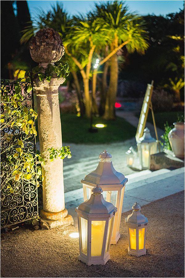 Evening light at a Villa Ephrussi de Rothschild wedding