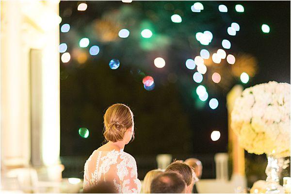 Fairy Lights at Villa Ephrussi de Rothschild wedding