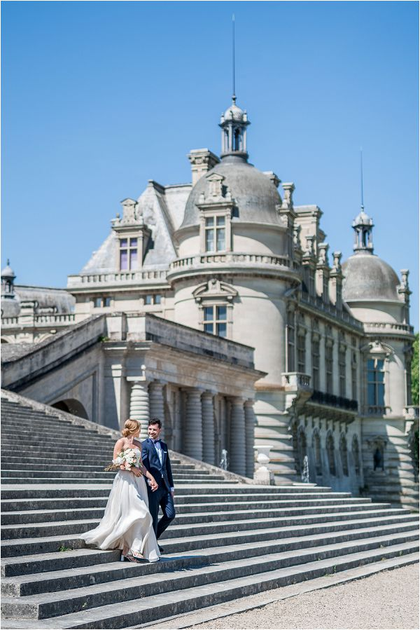 French Chateau wedding Chantilly | Image by Cedric Klein