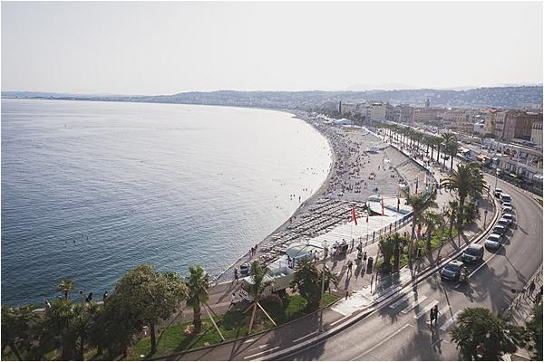 French Riviera Beach View