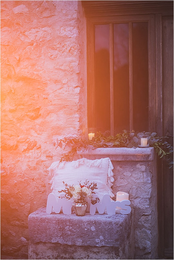 French Riviera Engagement Decorations
