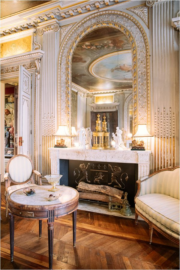 French chateau interior Image by Daria Lorman Photography
