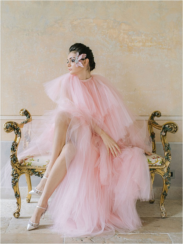 Pink Dress White Shoes  | Image by Laura Gordon