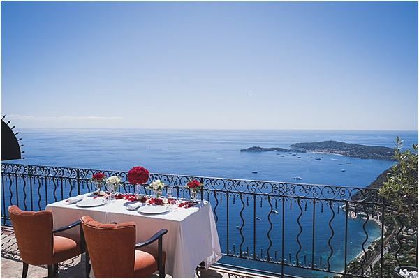 Private dinner at the french riviera