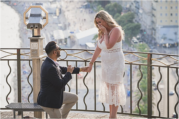 Propose in style at the french riviera