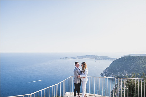 Proposing at the french Riviera