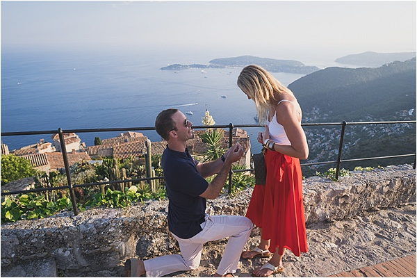 Proposing by the French Riviera