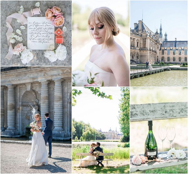 Romantic Elopement at Chateau de Chantilly Snapshot | Image by Cedric Klein