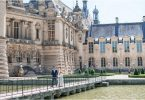 Romantic Elopement at Chateau de Chantilly in France