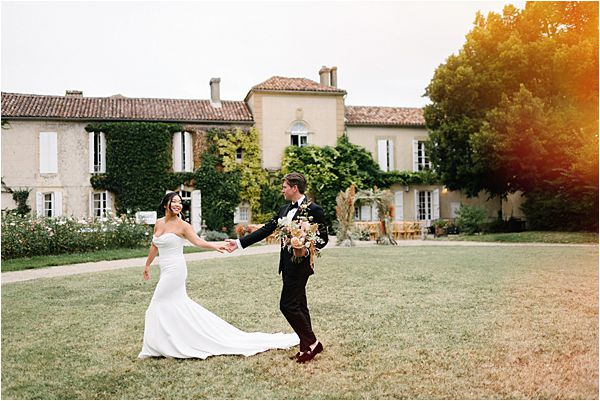 Romantic and Chic Chateau de Malliac Wedding