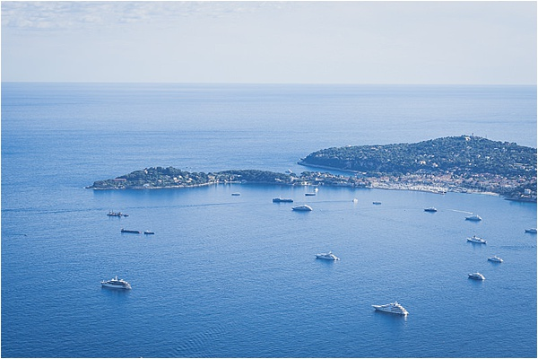 That amazing french riviera bay view