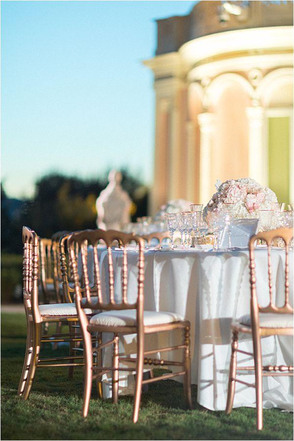 Villa Ephrussi de Rothschild wedding arrangement