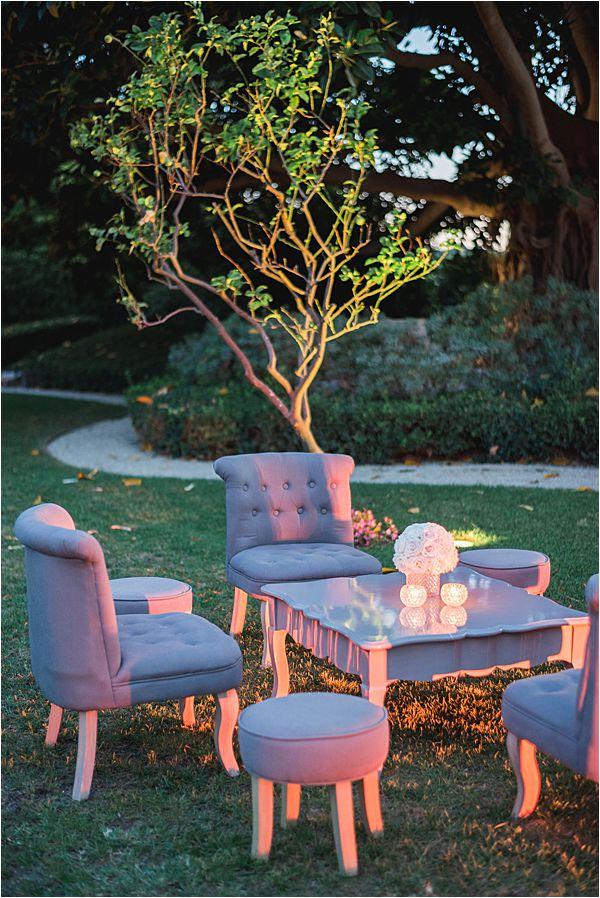 Villa Ephrussi de Rothschild wedding furniture