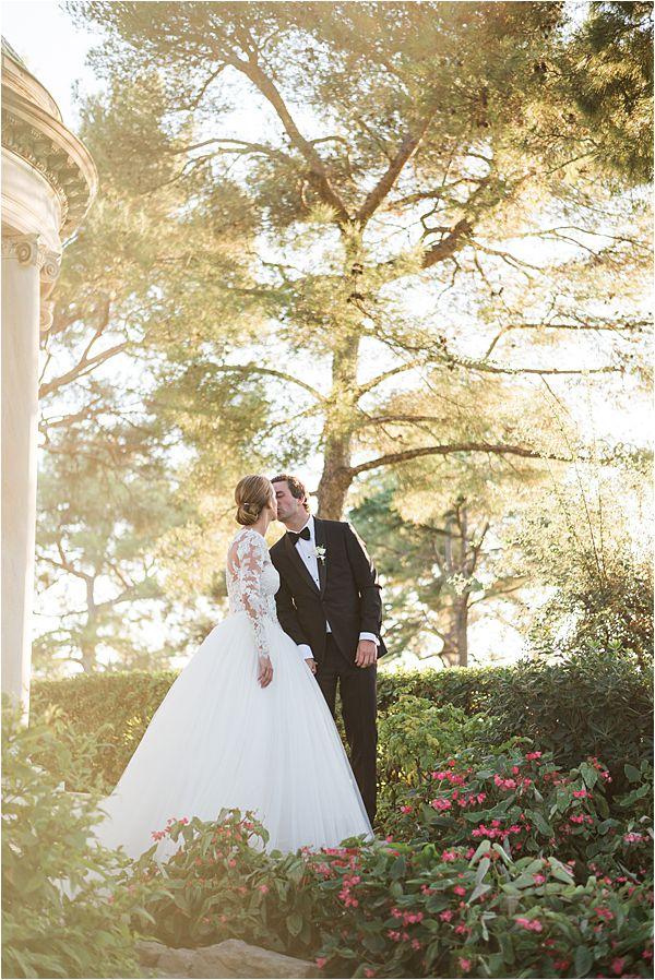 Villa Ephrussi de Rothschild wedding garden