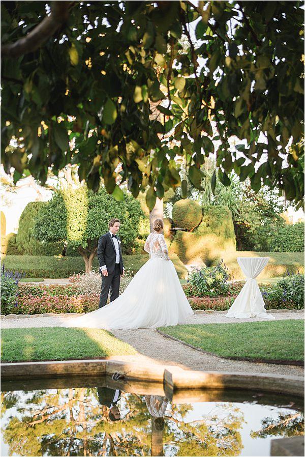 Villa Ephrussi de Rothschild wedding gardens