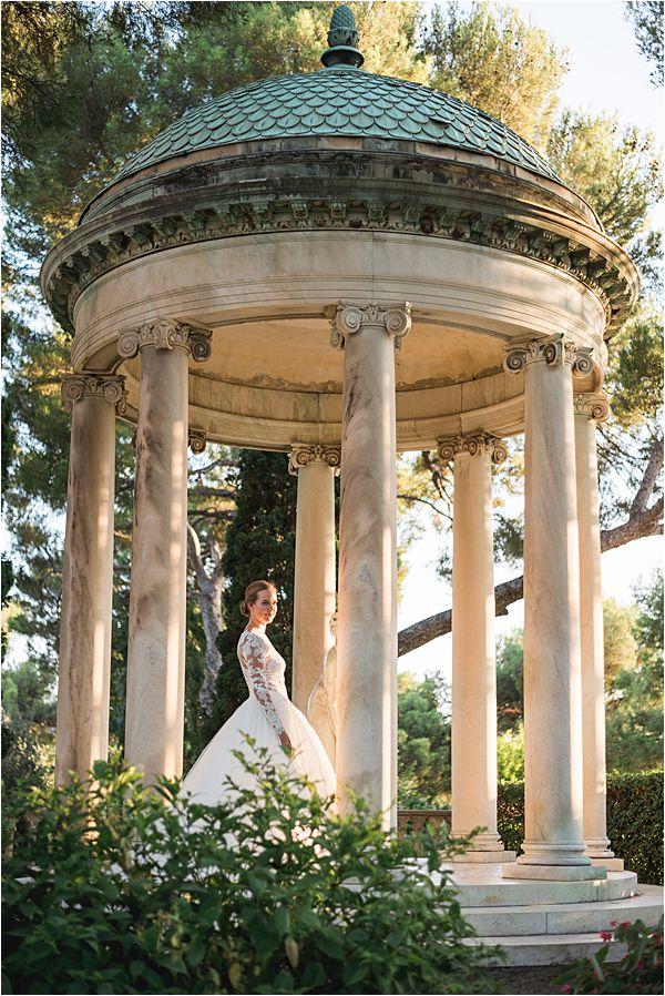 Villa Ephrussi de Rothschild wedding gazebo