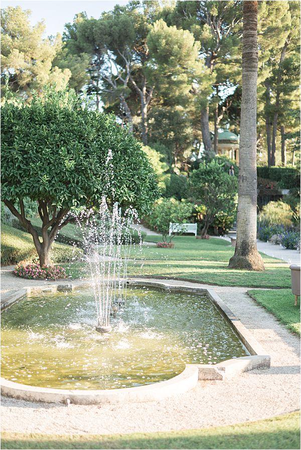 Villa Ephrussi de Rothschild wedding grounds