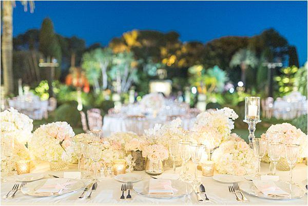 Villa Ephrussi de Rothschild wedding reception