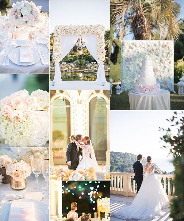 Villa Ephrussi de Rothschild wedding snapshot