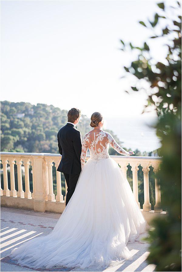 Villa Ephrussi de Rothschild wedding veranda