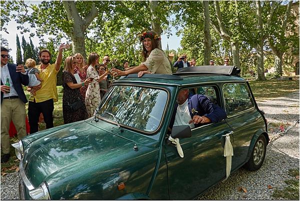 Festive style wedding at Chateau de Villeclare