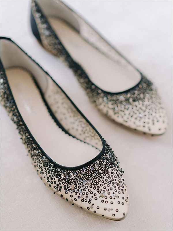 White shoes black sequins | Image by Laura Gordon