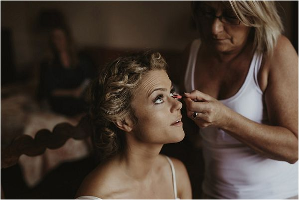 bridal make up south of france | Images by Danelle Bohane